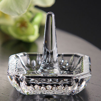 Waterford Crystal, Giftology Lismore Square Ring Holder