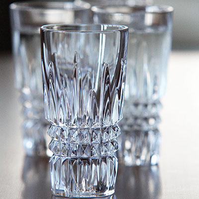 Waterford Giftology Lismore Diamond Vodka Shot Glass, Pair