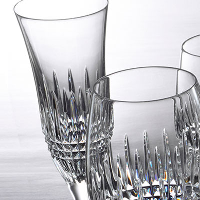 Waterford Crystal, Lismore Diamond Essence Crystal Flute, Single