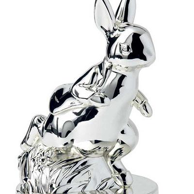 Wedgwood Peter Rabbit Silver Money Box