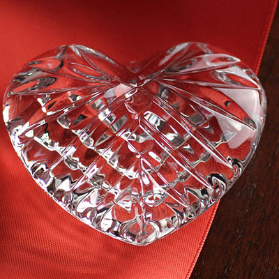 Waterford Celtic Heart Paperweight