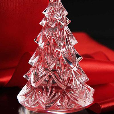 Waterford Medium Christmas Tree Sculpture, Clear