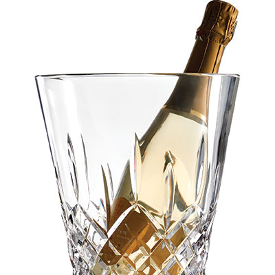 Waterford Crystal, Lismore Pops Crystal Champagne Bucket