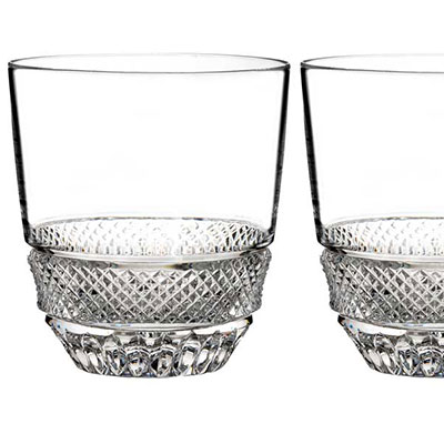Waterford Crystal, Town and Country Riverside Drive Tumbler, Pair