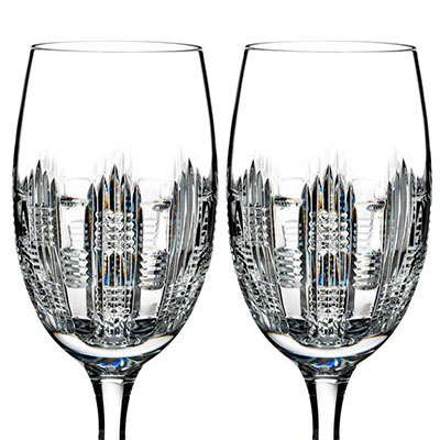 Waterford Crystal, Essentially Dungarvan Crystal Iced Beverage, Pair