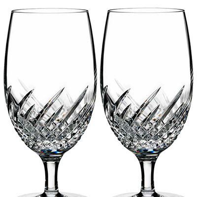Waterford Crystal, Essentially Wave Crystal Iced Beverage, Pair