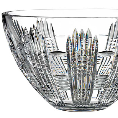 "Waterford Crystal, House of Waterford Dungarvan 10"" Crystal Bowl"