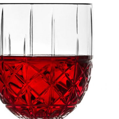 Marquis by Waterford Crystal, Brady Crystal Wine, Set of Four