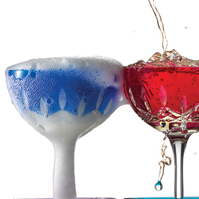 Waterford Crystal, Lismore Pops Cobalt Cocktail, Pair