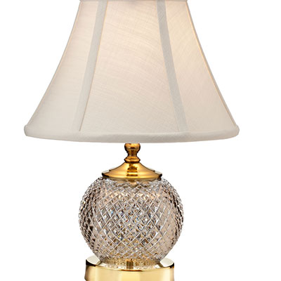 "Waterford Crystal, Alana 14 1/2"" Accent Crystal Lamp"