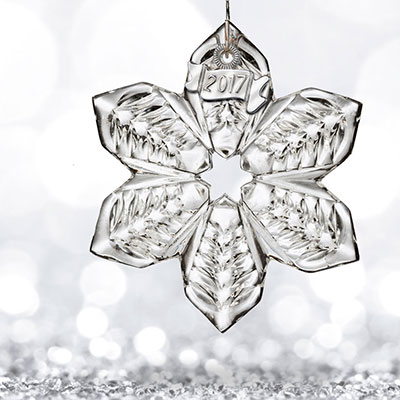 Waterford 2017 Mini Snowflake Ornament