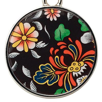 Wedgwood Wonderlust Key Ring, Oriental Jewel
