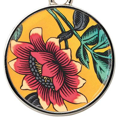 Wedgwood Wonderlust Key Ring, Yellow Tonquin