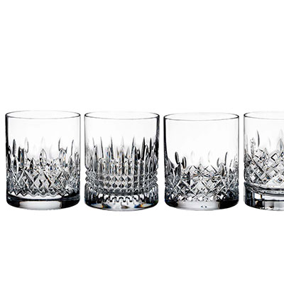 Waterford Crystal, Lismore Evolution Tumbler, Set of Four