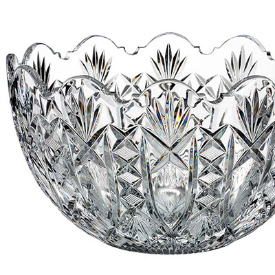 "Waterford Crystal, House of Waterford Maritana 10"" Crystal Bowl, Limited Edition of 200"