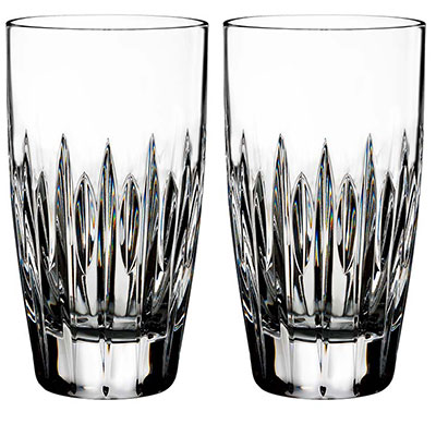 Waterford Crystal, Ardan Mara Crystal Hiball Tumbler, Pair