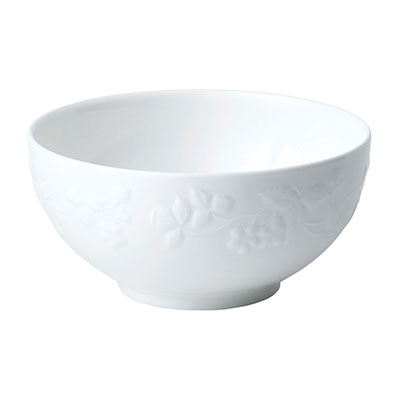 """Wedgwood Wild Strawberry White Soup/Cereal Bowl 6.3"""""""