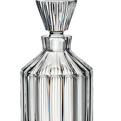 Waterford Crystal, Retro Bond Crystal Round Decanter
