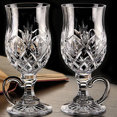 Waterford Crystal, Huntley Irish Coffee Glasses, Pair