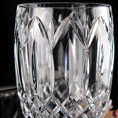 "Waterford Crystal, Ashbourne Heritage 8"" Crystal Vase"