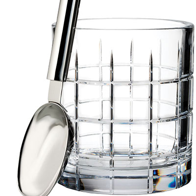 Waterford Crystal, Cluin Crystal Ice Bucket With Scoop