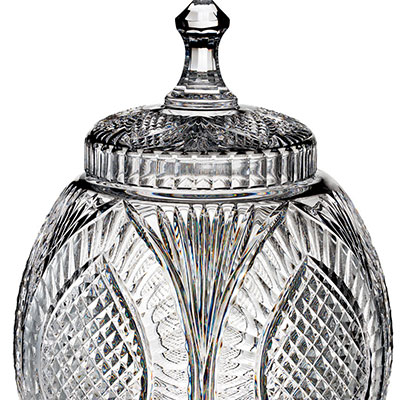 Waterford Crystal, House of Waterford Reflections Cookie Jar, Limited Edition of 100