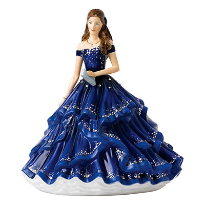 Royal Doulton Pretty Ladies Crystal Ball Grand Soiree