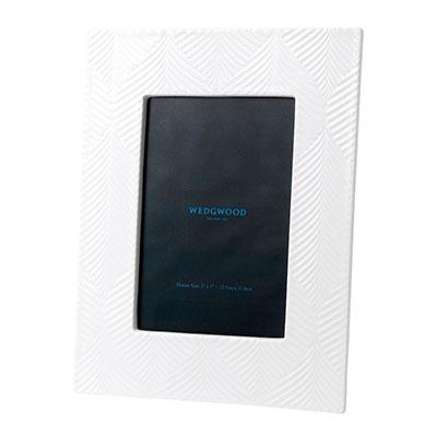 """Wedgwood China White Folia Frame 5x7"""""""