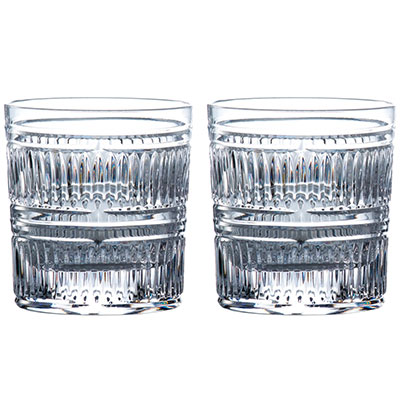 Royal Doulton, Crystal Radial Tumbler, Pair