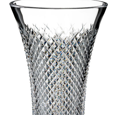 Waterford Crystal, House of Waterford Treasures of the Sea Alana Flared Crystal Vase