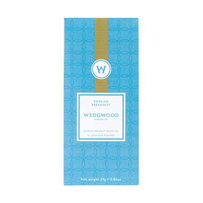 Wedgwood China Signature Tea English Breakfast Tea Box of 12