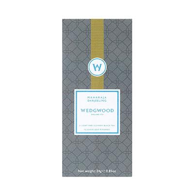 Wedgwood China Signature Tea Maharaja Darjeeling Tea Box of 12
