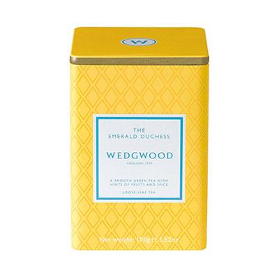 Wedgwood China Signature Tea Emerald Duchess Caddy 100G