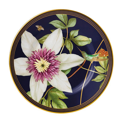 Wedgwood China Hummingbird Bread and Butter Plate