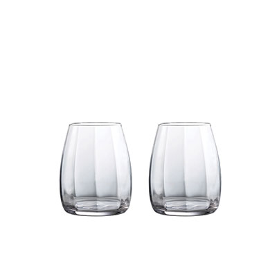Waterford Crystal Elegance Optic DOF 17.6oz. Pair