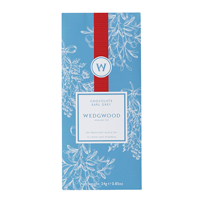 Wedgwood China Tea Moments Winter Tea Blend Chocolate Earl Grey Box of 12