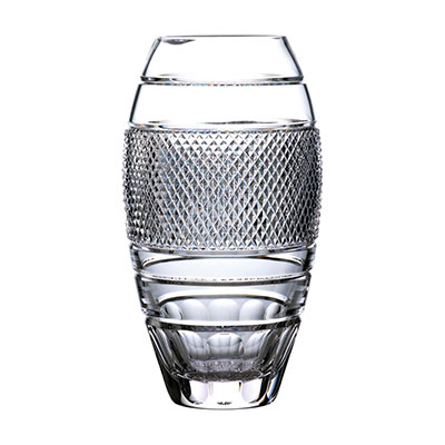 "Waterford Crystal Master Craft Copper Coast Vase 13"", Limited Edition"