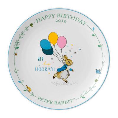 Wedgwood China Peter Rabbit 2019 Annual Birthday Plate