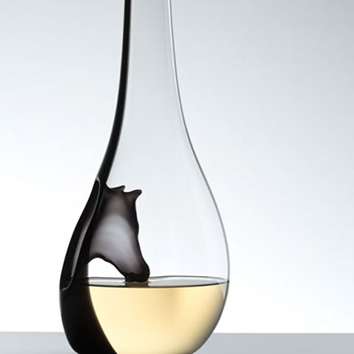 Riedel Horse Crystal Wine Decanter