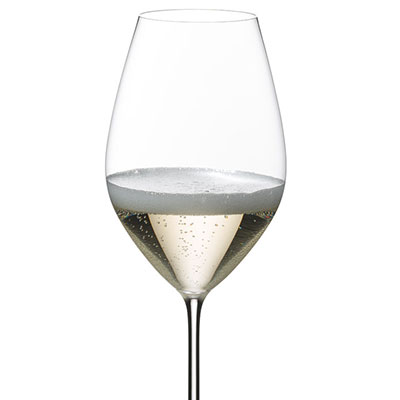 Riedel Sommeliers, Hand Made, Superleggero Champagne Crystal Glass, Single