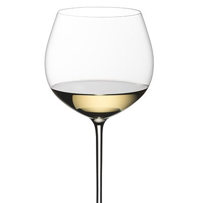 Riedel Sommeliers, Hand Made, Superleggero Oaked Chardonnay Crystal Wine Glass, Single