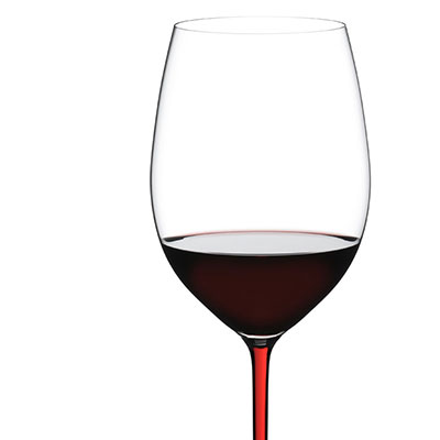 Riedel Fatto A Mano, Cabernet Crystal Wine Glass, Red