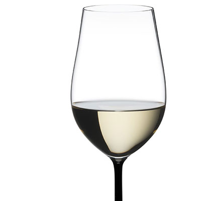 Riedel Fatto A Mano, Riesling, Zinfandel Crystal Wine Glass, Black