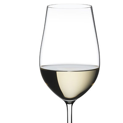 Riedel Fatto A Mano, Riesling, Zinfandel Crystal Wine Glass, White