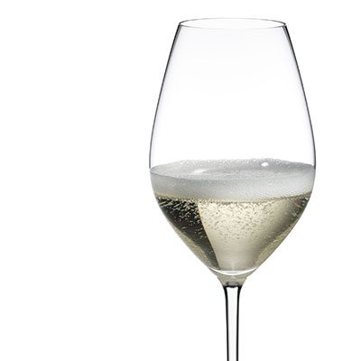 Riedel Fatto A Mano, Champagne Crystal Glass, White