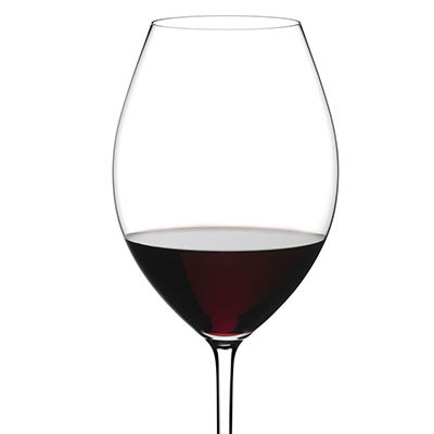 Riedel Fatto A Mano, Old World Syrah Crystal Wine Glass, White