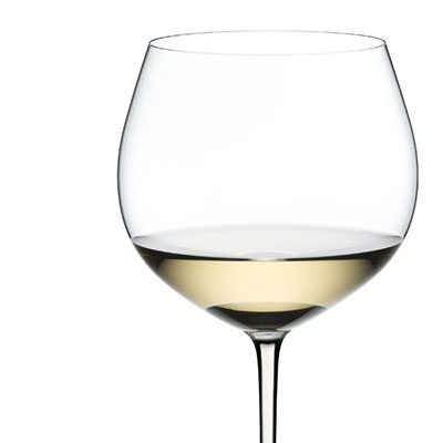 Riedel Fatto A Mano, Oaked Chardonnay Crystal Wine Glass, White