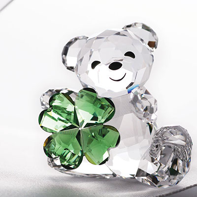 Swarovski Crystal, Good Luck Kris Bear