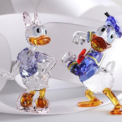 Swarovski Crystal, Disney Daisy Duck