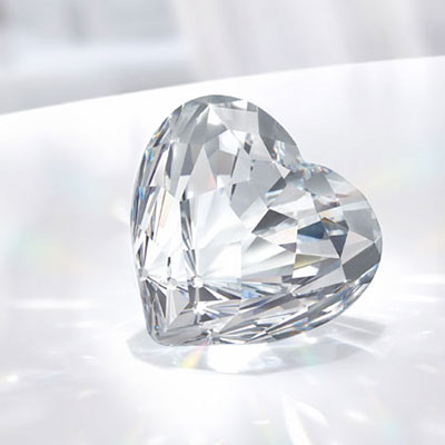 Swarovski Crystal Brilliant Heart, Small